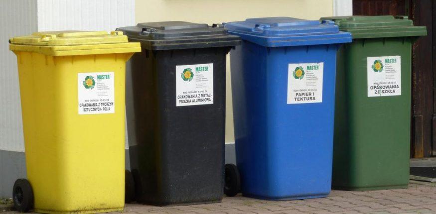 pojemniki do selektywnej zbiórki odpadów komunalnych
