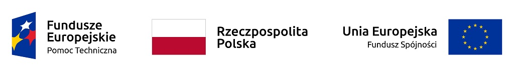 zestawienie znaków funduszy europejskich i barw rzeczypospolitej polskiej i znaku unii europejskiej